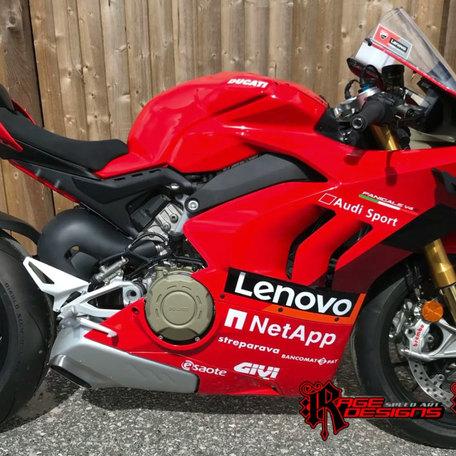 Ducati V4s - Moto GP Colours - Rage Designs