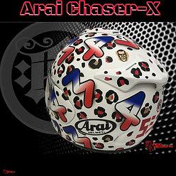 Arai Chaser X - Rage Designs