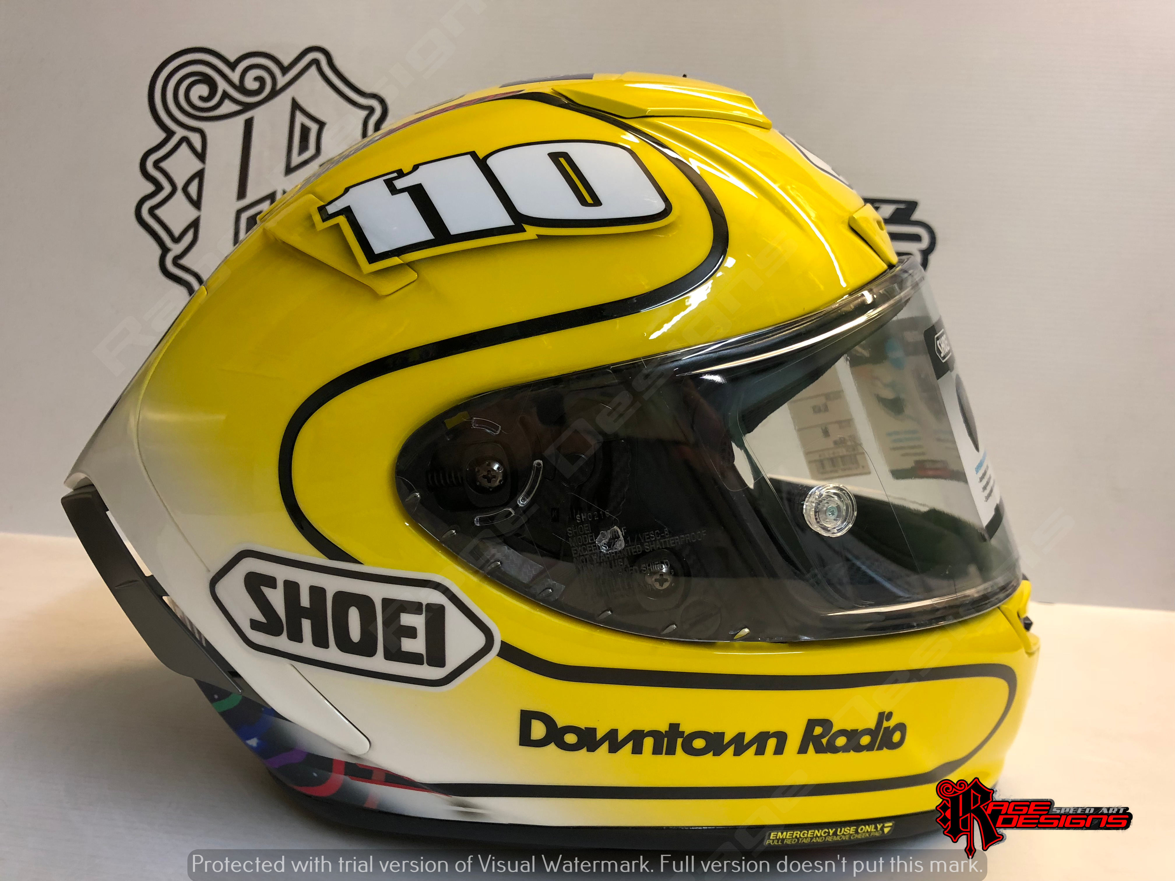 Joey Dunlop Style by Rage Designs