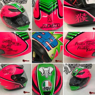 AGV Custom Helmet Design - Rage Designs