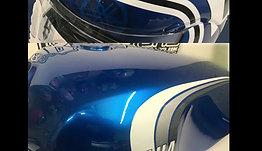 Yamaha RD 350LC & Arai - Rage Designs