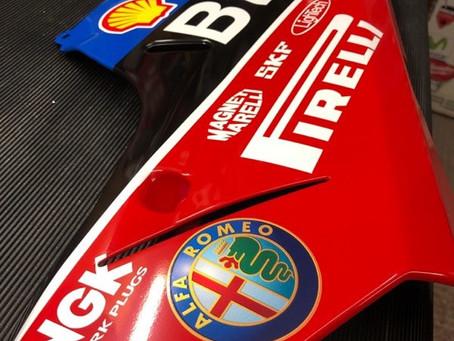 Ducati 1098r Bayliss Replica