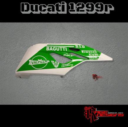 Ducati 1299r - Rage Designs