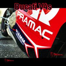 Ducati V4s - Pramac Colours - Rage Designs