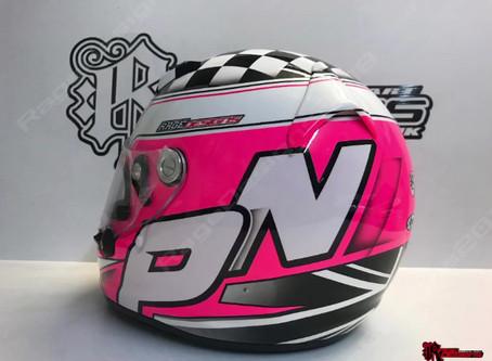 Perry Norman - Karting Helmet