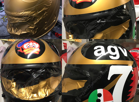 Busy  day today at Rage - Helmets and Ducati's