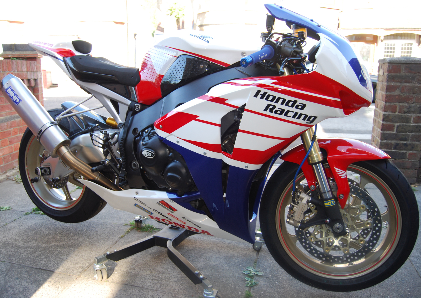 Honda Fireblade by Rage Designs