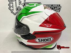 Custom  Shoei - Rage Designs