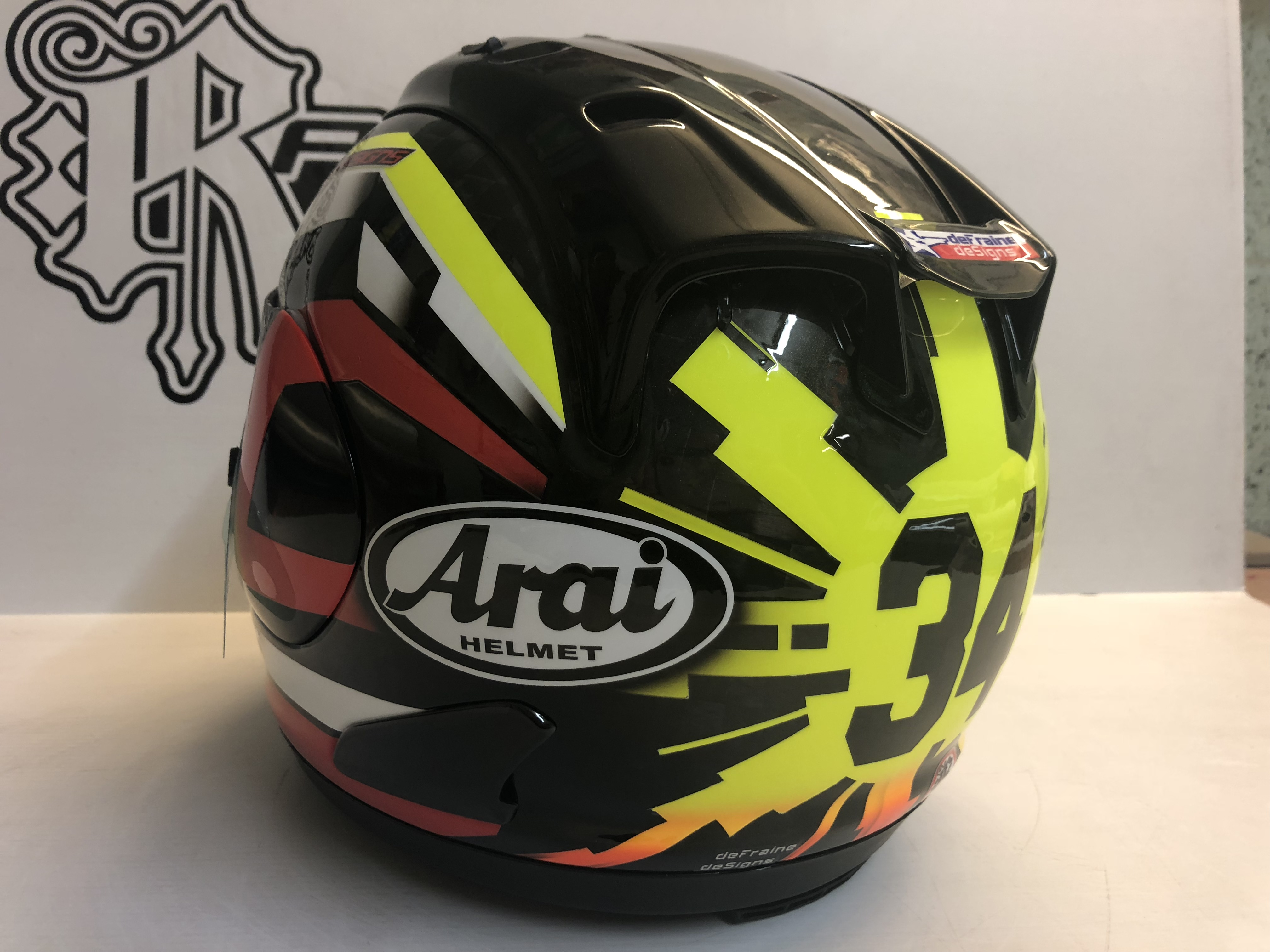Arai RX-7 Carbon by Rage Designs