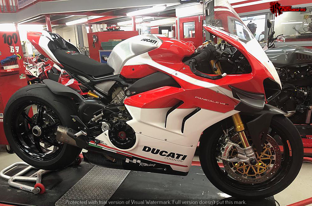 Ducati Paintwork by Rage Designs
