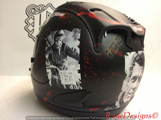 James Rispoli - X Games helmet