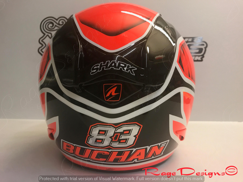 Danny Buchan 17 Helmet