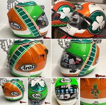 Blarney Quick Racing - Arai - Rage Designs