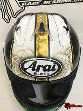 Custom Arai - Rage Designs