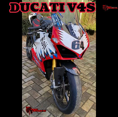 Ducati V4s in Koji Haga scheme - Rage Designs