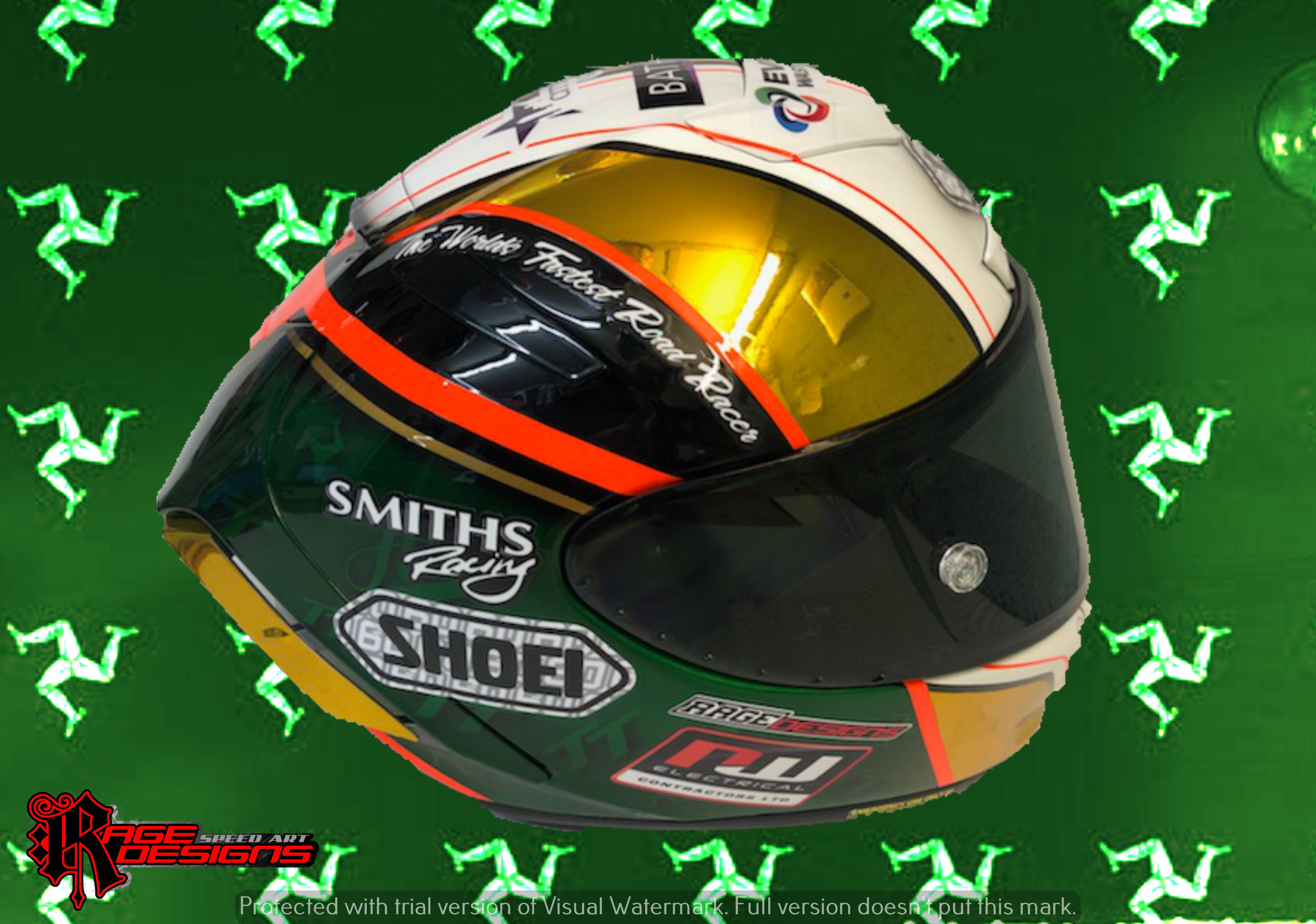 Peter Hickman by Rage Designs