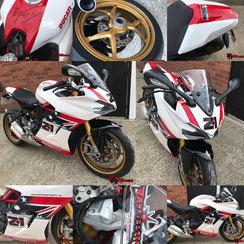 Ducati Supersport - Bayliss LE Colours - Rage Designs