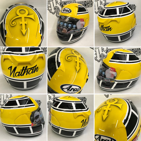 Custom  Helmet Design - Rage Designs