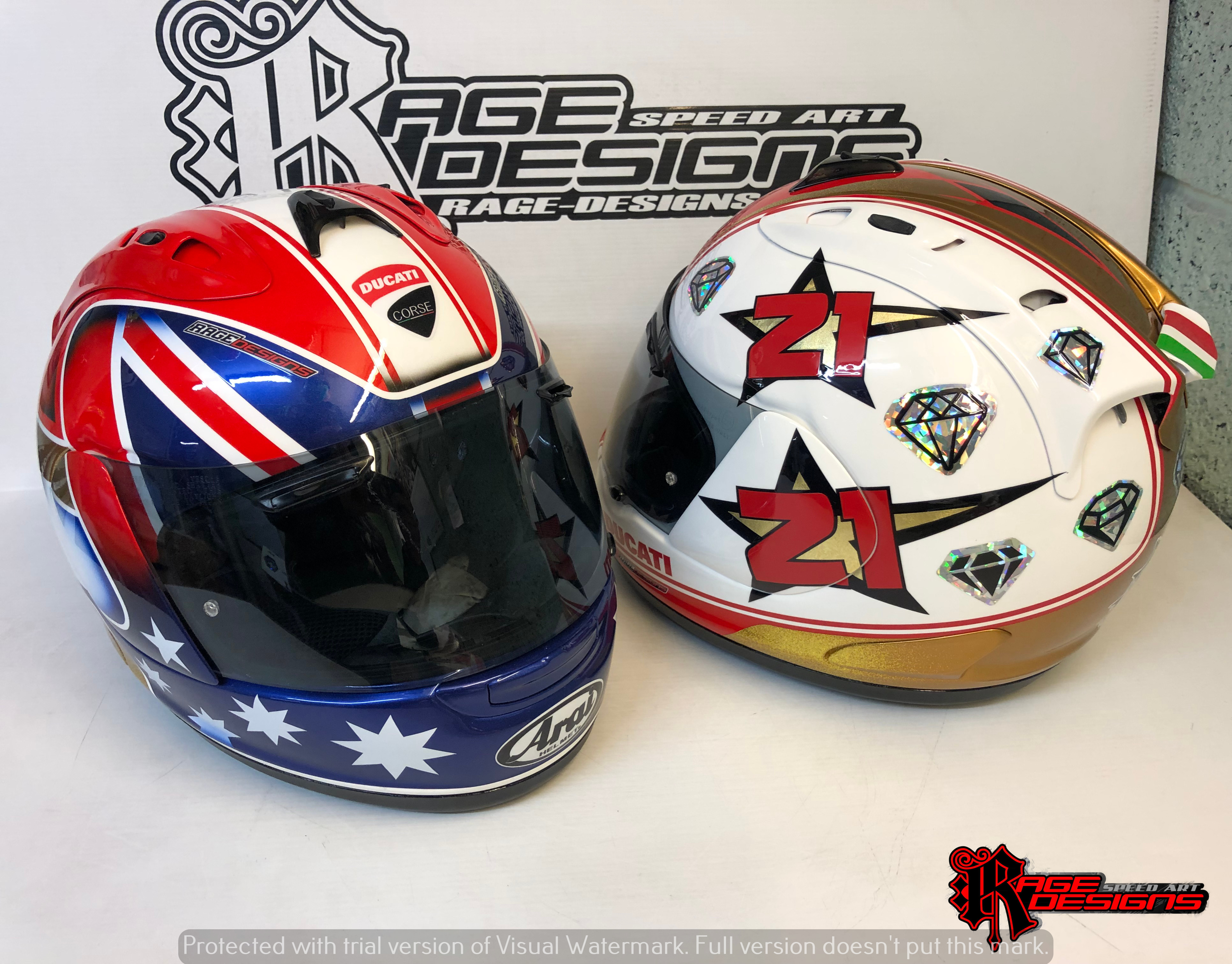 Bayliss Custom Des by Rage Designs