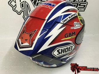 Tim Neave - Shoei Helmets - Rage Designs
