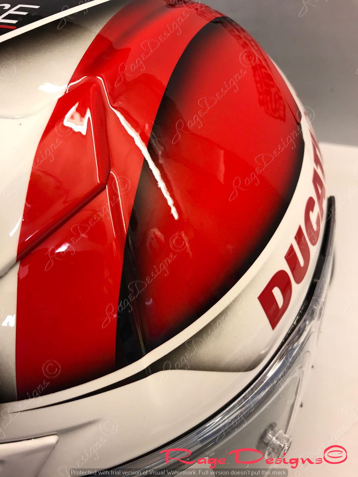 Race Helmets by Rage Designs