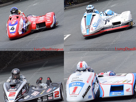 Sidecars ... TT 2018