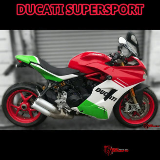 Ducati Supersport - Rage Designs