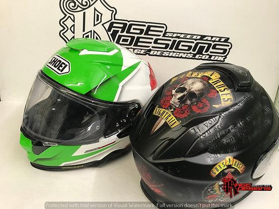 Custom Helmet Designs - Rage Designs