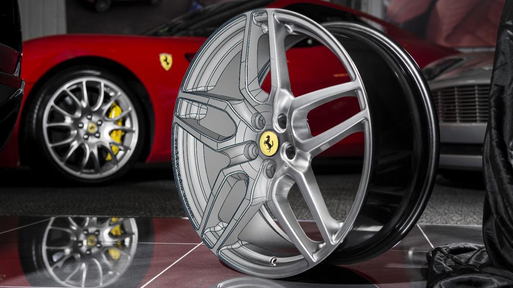 Monza Ferrari wheel