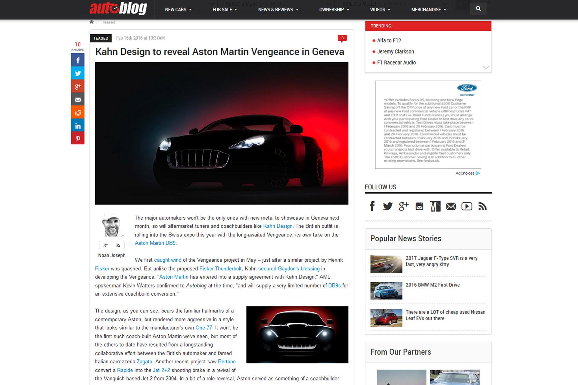 News - Autoblog