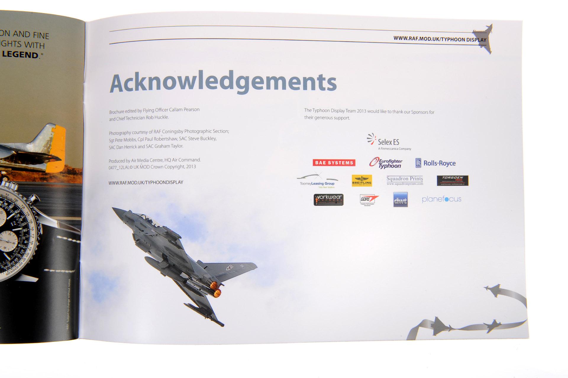 Typhoon Display Brochure
