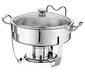 4qt 3.7 L stainless steel chafing dish