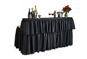 two tier bar table