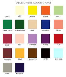 tablecloth/ linens