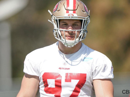 Nick Bosa to miss 49ers' preseason with high ankle sprain