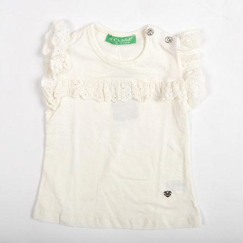 Puledro Kız Çocuk Tişört D1-2730