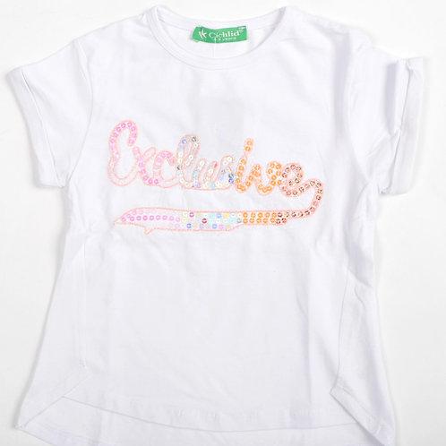 Puledro Kız Çocuk Tişört D1-2601