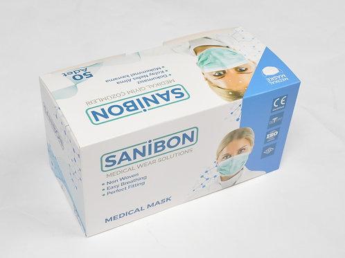 Sanibon Cerrahi Medikal Maske