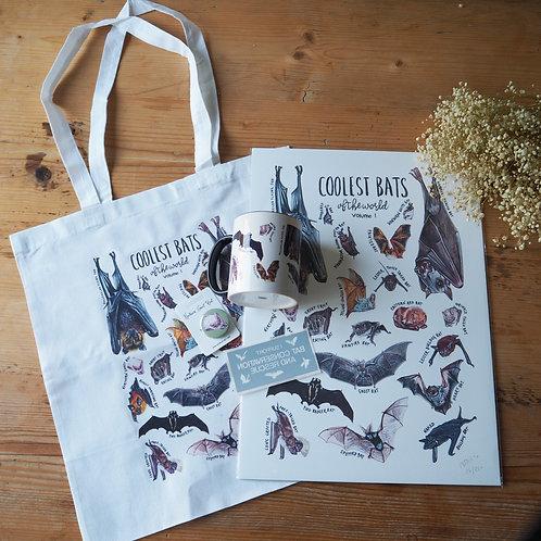 Coolest bats gift bundle