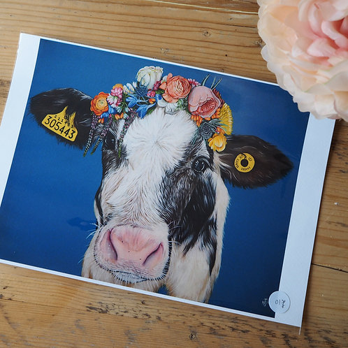 Do you like me now? Cow print