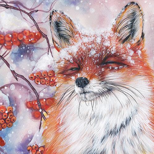 Winter Joy - Fine Art Print