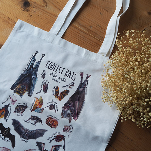 Coolest Bats Of The World Tote Bag