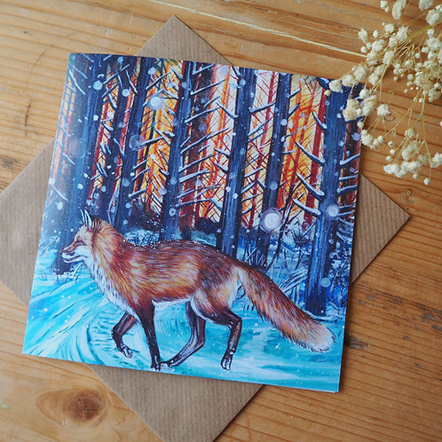 Run free, think of me, Boxing Day plea card