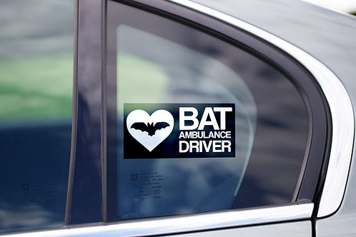 Bat car stickers