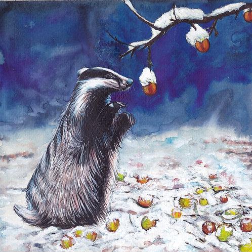 Winter feast card