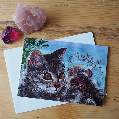 Ani and Billo card