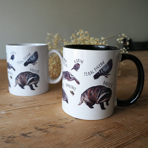 Iconic British Wildlife Mug