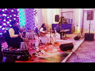 Pre- Wedding Sufi Gig at Marriot Hotel Mumbai