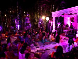 Beautiful Pre-Wedding Spiritual Music Concert at Panchkula for Gupta Family !!  Amazing Decor and Ev
