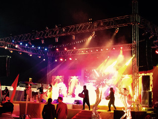 Bollywood Style Show at INDORE Wedding!!